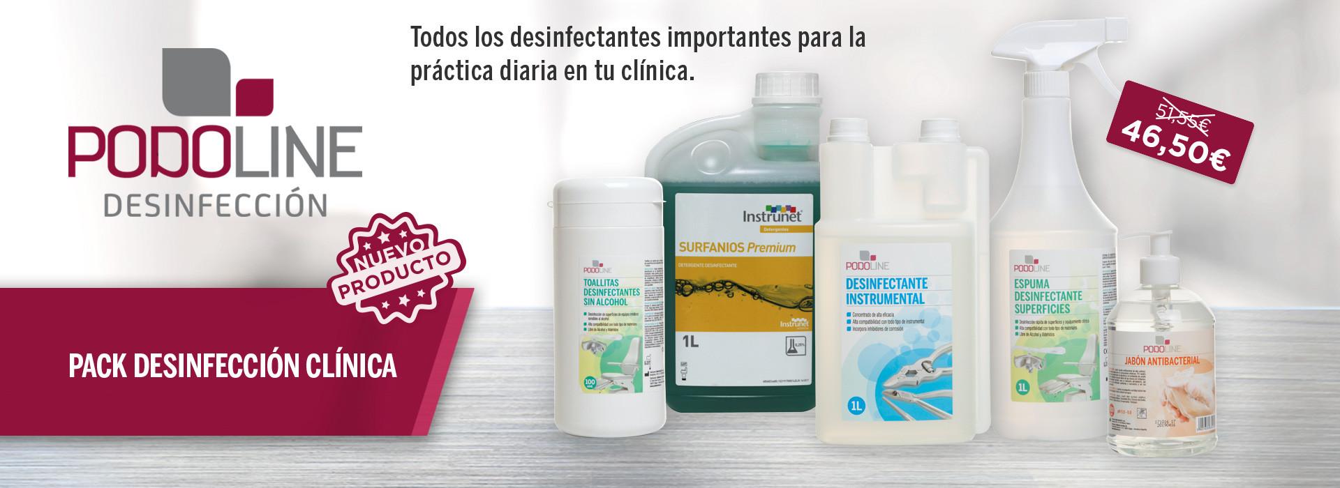 Pack desinfección clínica
